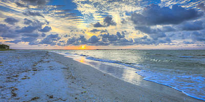 Photograph - Sanibel Sunrise by Sean Allen