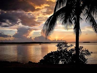 Photograph - Sanibel Sunset by Carol Bradley
