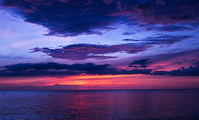 Photograph - Sanibel Sunset by Robert McKay Jones