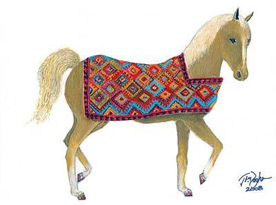 Sanjabi Pony Art Print