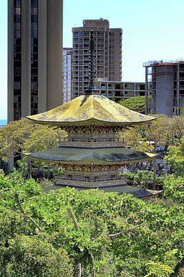 Photograph - Sanju Pagoda 2 by Susan Rissi Tregoning