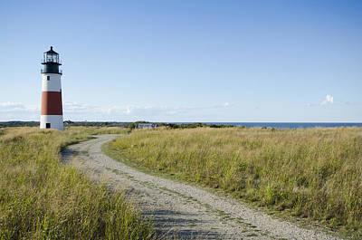 Nantucket Photograph - Sankaty Head Lighthouse, Nantucket by Jack Flash