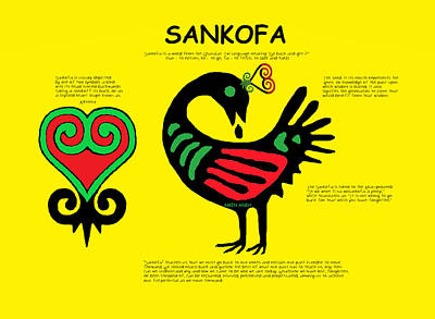 Sankofa Knowledge Art Print