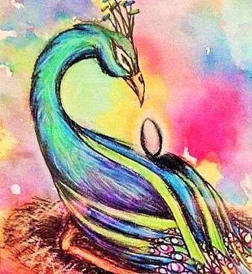 Painting - Sankofa by Meganne Peck