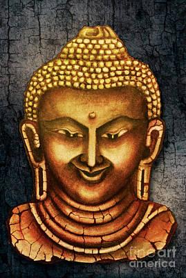 Sanskrit Image 5, The Myanmar Collection Art Print