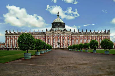 Photograph - Sanssouci Palace by Anthony Dezenzio