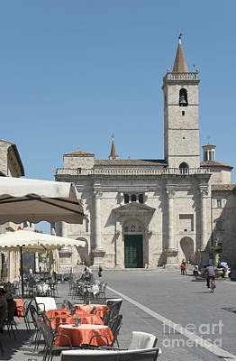 Photograph - Sant Emidio Cathedral In Ascoli Piceno I by Fabrizio Ruggeri