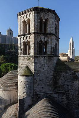 Girona Photograph - Sant Pere De Galligants Monastery In Girona by Artur Bogacki