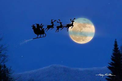 Santa 1 Art Print