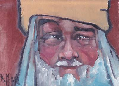 Painting - Santa 1 by Kevin McKrell