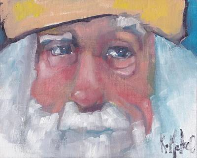 Painting - Santa 3 by Kevin McKrell