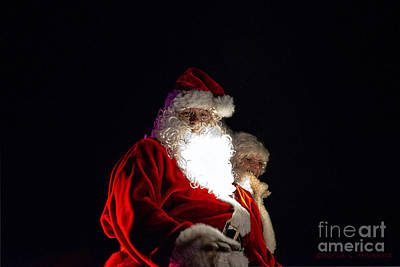 Photograph - Santa And Mrs Clause by David Arment