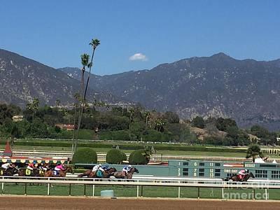 Photograph - Santa Anita 3 by Jenny Revitz Soper