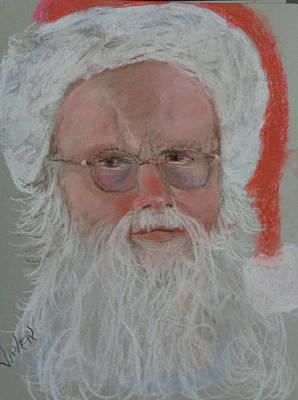 Pastel - Santa by Arlen Avernian - Thorensen