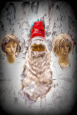 Digital Art - Santa Baby  by John Haldane