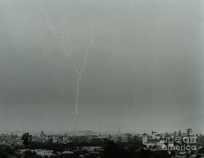 Photograph - Santa Barbara 1990-signed-#001 by J L Woody Wooden