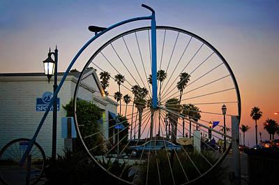 Photograph - Santa Barbara Beach Bike by Lynn Bauer