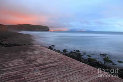 Azoren Photograph - Santa Barbara Beach by Gaspar Avila