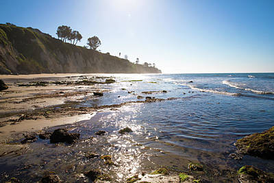 Photograph - Santa Barbara Beach by JoDee Luna