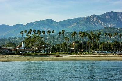 Photograph - Santa Barbara California Beachfront - by Georgia Mizuleva