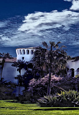 Photograph - Santa Barbara City Hall Part 1- Color by Danuta Bennett