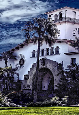 Photograph - Santa Barbara City Hall Part 2- Color by Danuta Bennett