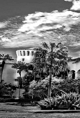 Photograph - Santa Barbara City Hall Triptych _ Part1 by Danuta Bennett