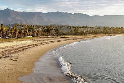 Photograph - Santa Barbara Coast by Kathleen McGinley