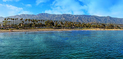 Photograph - Santa Barbara Coastal Panorama by Lynn Bauer