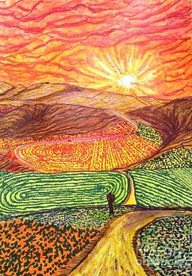 Santa Barbara County Color Splash  Art Print