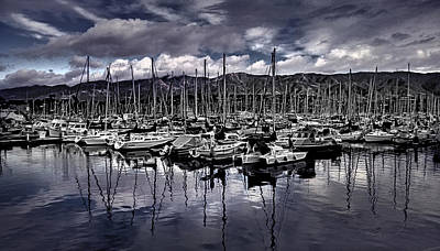 Photograph - Santa Barbara Harbor by Danuta Bennett