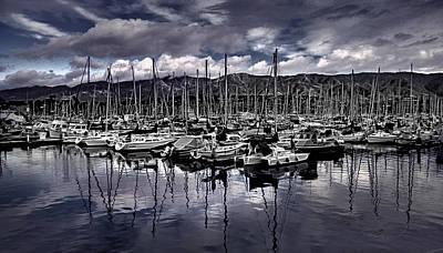 Photograph - Santa Barbara Harbor by Danuta Bennett