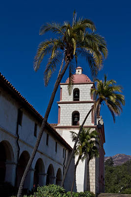 Photograph - Santa Barbara Mission 3 by Roger Mullenhour