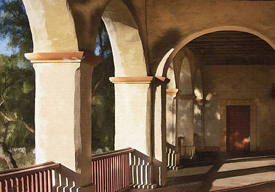 Photograph - Santa Barbara Mission by Sharon Foster