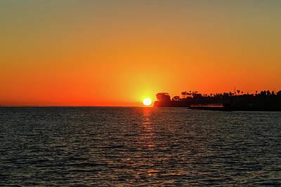 Photograph - Santa Barbara Sunset by Kathleen McGinley