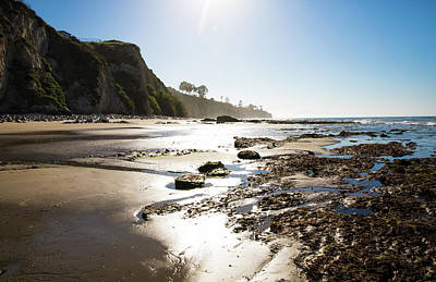Photograph - Santa Barbara Tide Pools by JoDee Luna