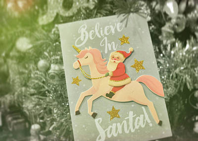 Photograph - Santa Believers by Jamart Photography