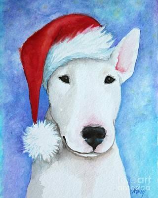 Santa Claus Painting - Santa Bully by Jindra Noewi