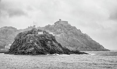 Photograph - Santa Clara Island Bw by Pablo Lopez