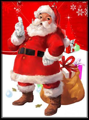 Santa Claus Original by Begum Karakocak