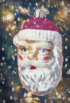 Photograph - Santa Claus by Jean OKeeffe Macro Abundance Art