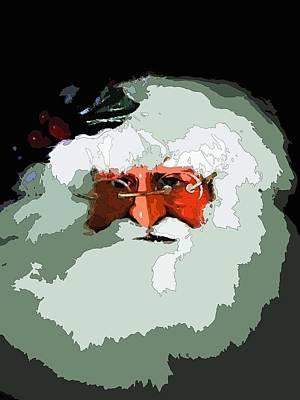 Santa Claus Print by Joseph Frank Baraba