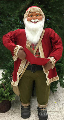 Photograph - Santa Claus Weihnachtsmann by Eva-Maria Di Bella