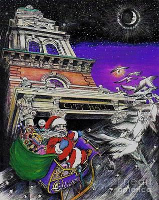 Santa Comes To Gloucester Original