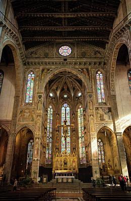 Santa Croce Florence Italy Art Print