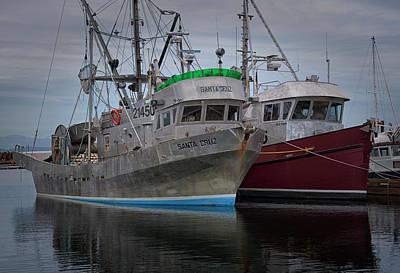 Photograph - Santa Cruz And Sea Rake by Randy Hall