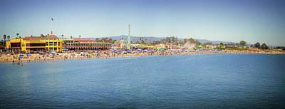 Photograph - Santa Cruz Beach And Boardwalk by Marnie Patchett