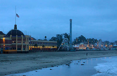 Photograph - Santa Cruz Beach Boardwalk 1 by Chris Thomas