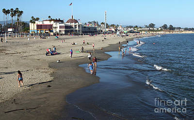 Photograph - Santa Cruz Beach by Gregory Dyer