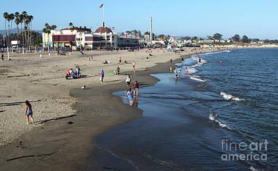 Photograph - Santa Cruz Beach by Gregory Dyer